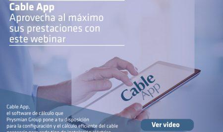 Cable App: Aprovecha al máximo sus prestaciones con este webinar