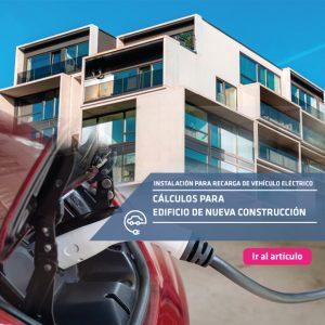 Cálculos de recarga de VE para edificios de nueva construcción