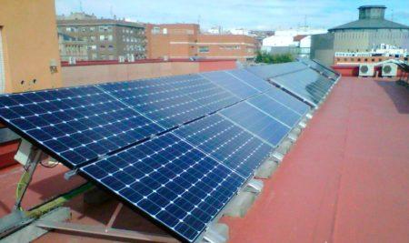 Cálculo de líneas para una instalación fotovoltaica de 5 kW para autoconsumo