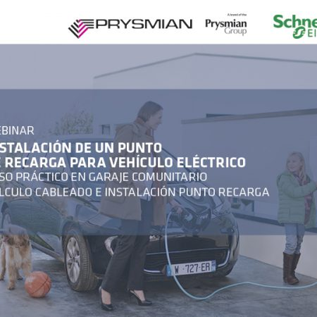 Webinar. Instalación punto de recarga de vehículo eléctrico