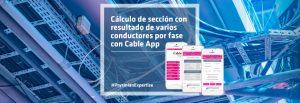 app de cálculo sección CableApp