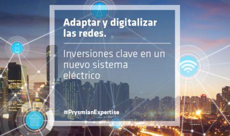 Adaptar y digitalizar las redes. Inversiones clave en un nuevo sistema eléctrico.