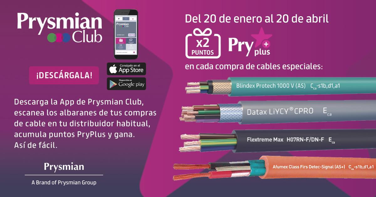 Promoción Cables Especiales