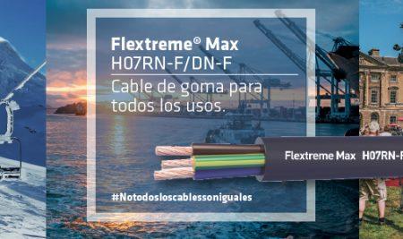 Flextreme Max H07RN-F/DN-F, el cable de goma todo en uno