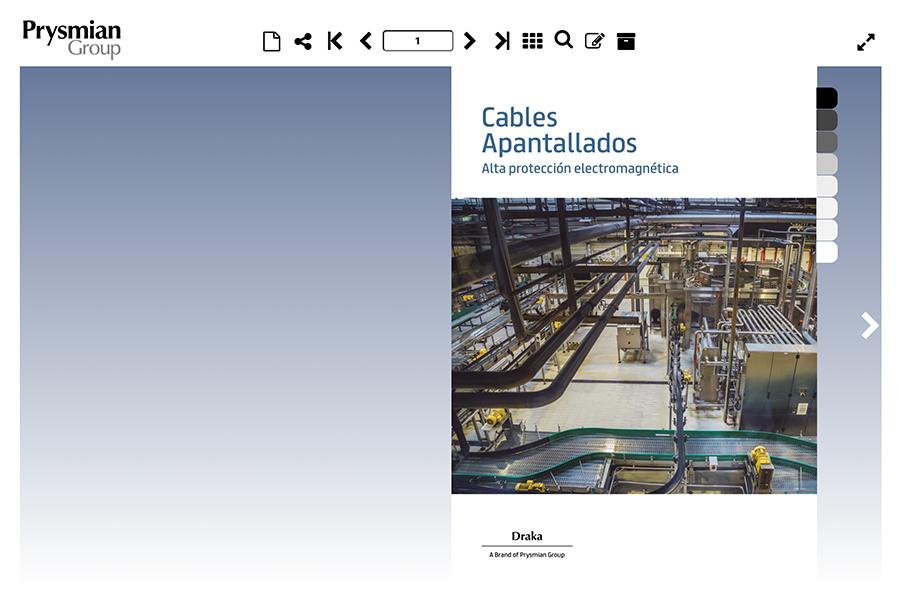 Catálogo cables apantallados