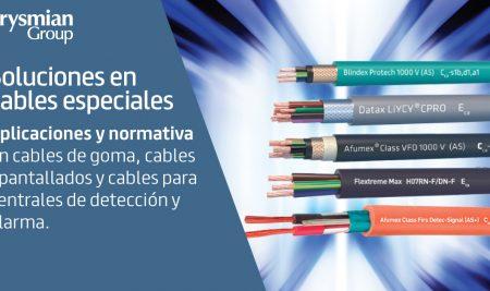Soluciones Prysmian en cables especiales. No todos los cables son iguales.