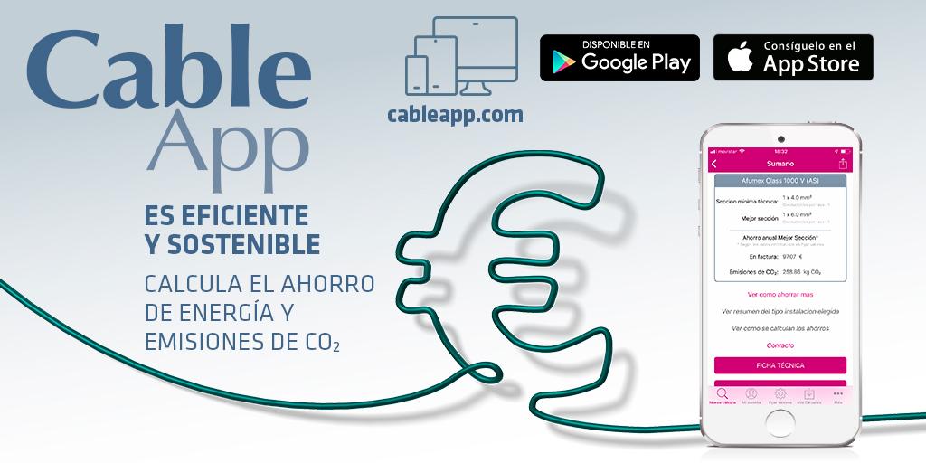 CableApp, tu software gratuito de cálculo de sección de cable