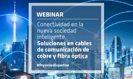 Webinar: Soluciones en conectividad y transmisión de datos en la nueva sociedad inteligente