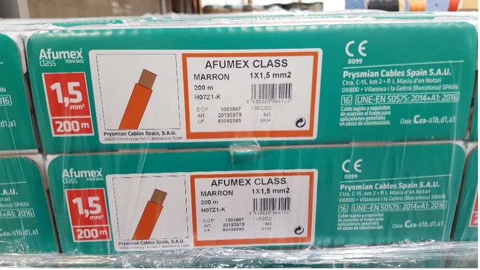 Afumex Class 750 V (AS)